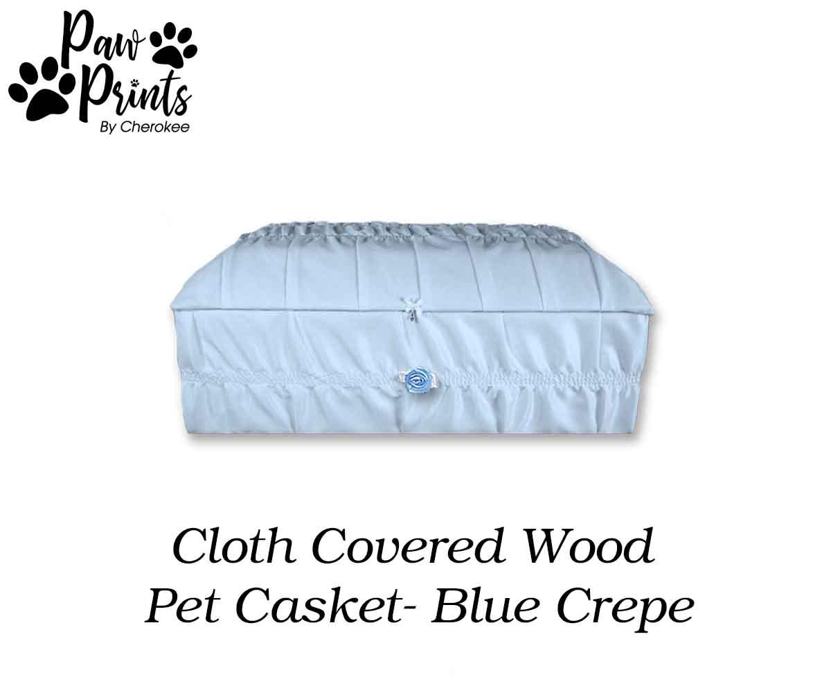 Cloth Covered Pet Casket