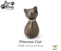 L-P265 PRINCESS CAT BRONZE